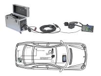 Digitalfunkkoffer XS PEI + ext. Hörerauflage Motorola